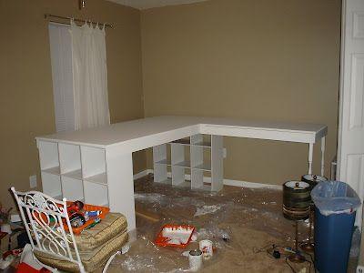 Diy Craft Desk Revisited Diy Crafts Desk Craft Table Diy