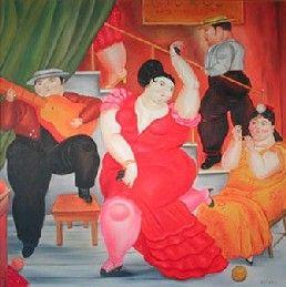 Flamenco Botero | maestros de la pintura | Pinterest ...