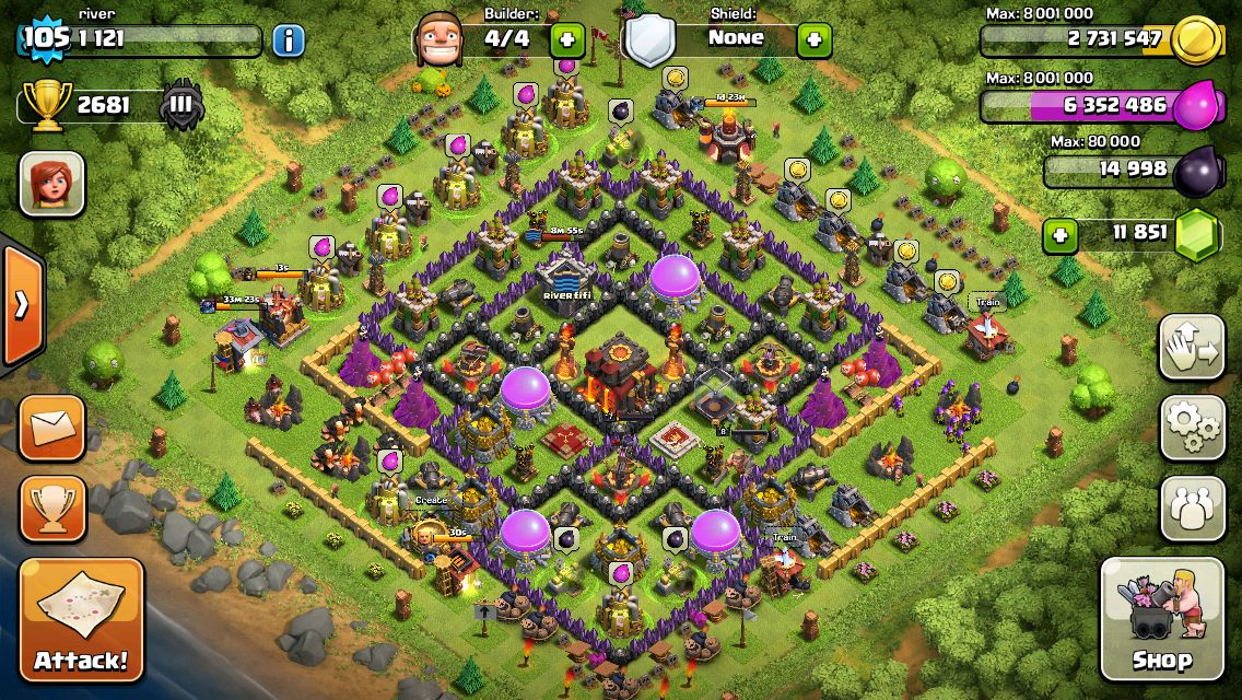 Cool Clash Of Clans Base Clash Of Clans Hack Clash Of Clans