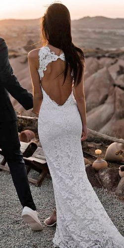 51 Beach Wedding Dresses Perfect For Destination Weddings 13