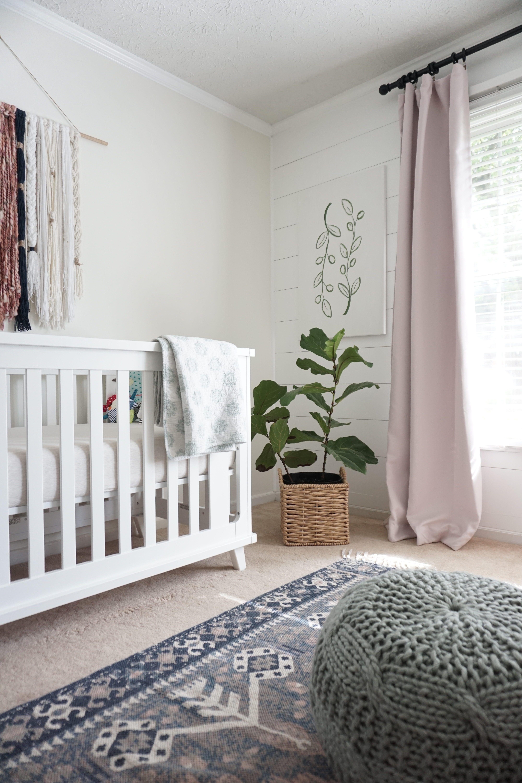 Neutral Boho Nursery Reveal | One Room Challenge: Week 6   Dahlias And Dimes