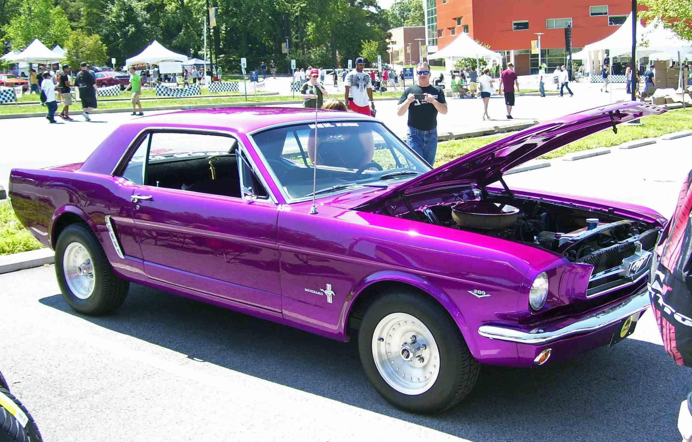 Purple Muscle Cars Desktop Background Wallpaper | car | Pinterest ...