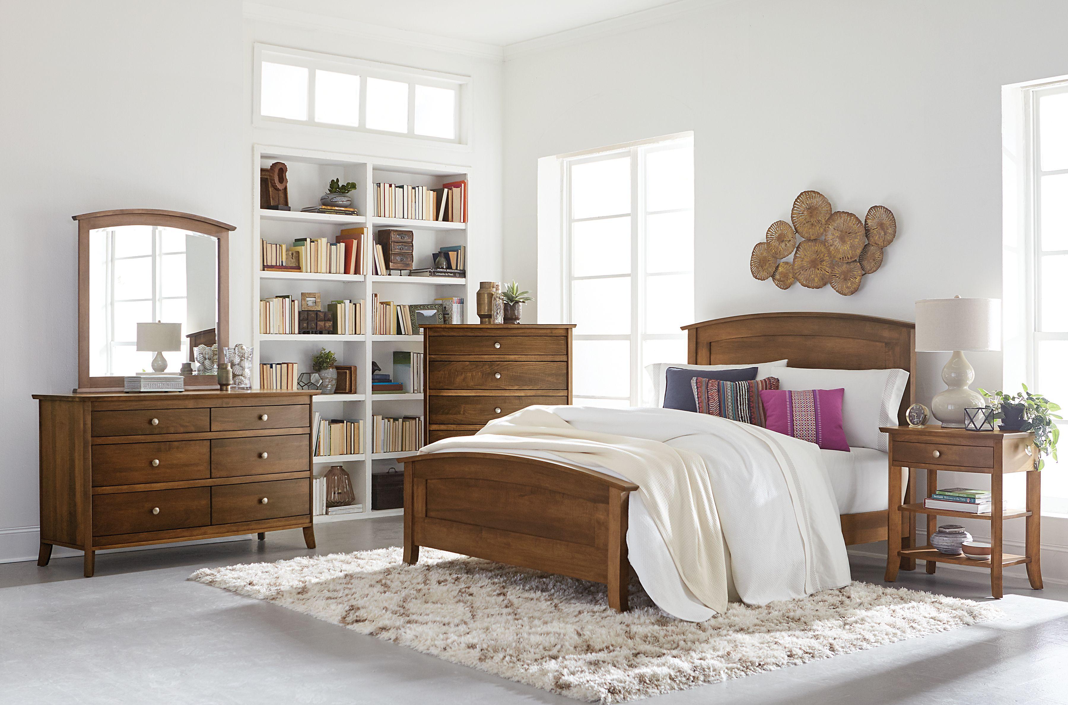 Laurel Bed Furniture, Amish furniture, Solid wood