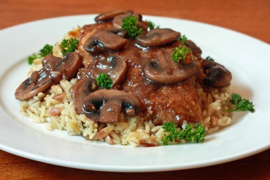 Chicken Recipes : Chicken Marsala Recipe
