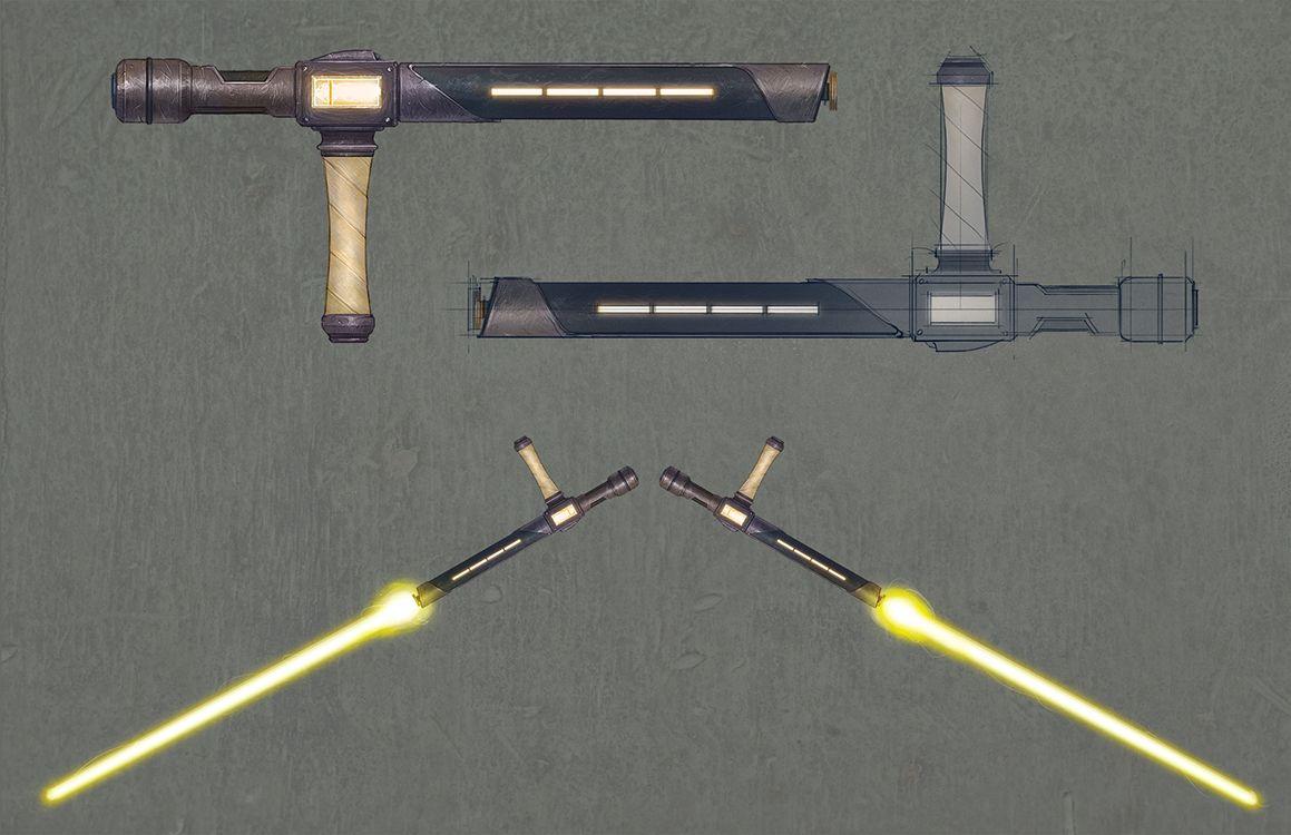 tonfa lightsabers - Google Search