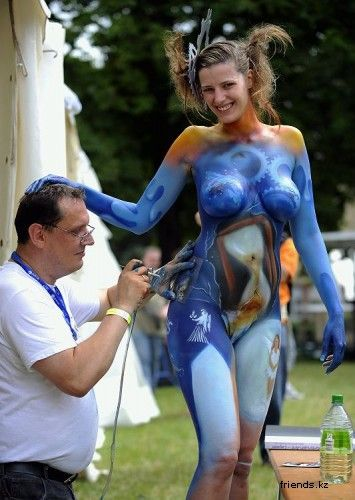 Pin On Body Painting Arts