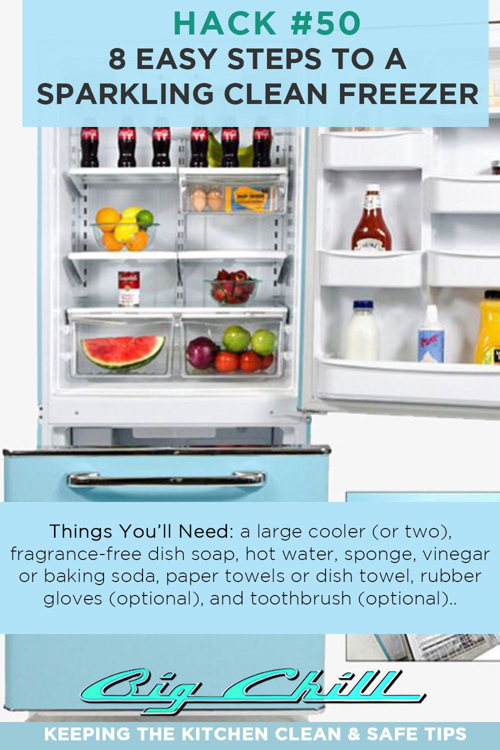 Your Big Book of Kitchen Tips | Pinterest | Big chill