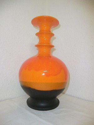 Hutschenreuther Keramik  Vase 70er Jahre Renee Neue Design Vintage