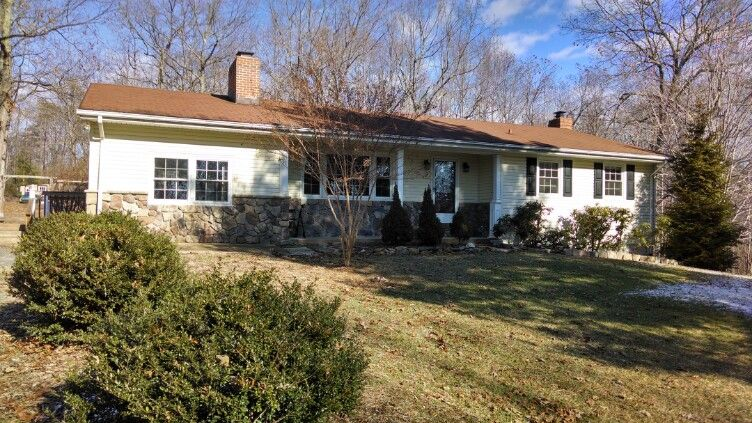 Beautiful home with almost 18 acres in Amissville Virginia, just a few miles outside of Warrenton, Va.