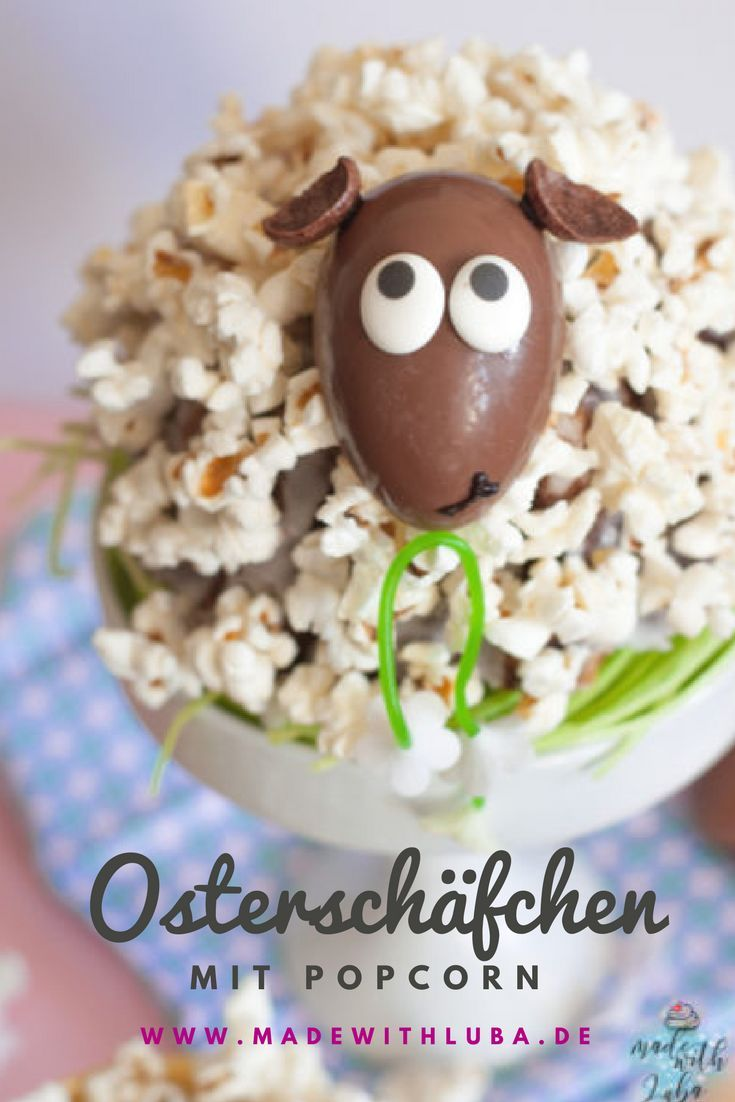 Photo of Schäfchentörtchen mit Popcorn zu Ostern