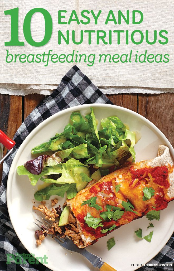 Breast feeding recipes