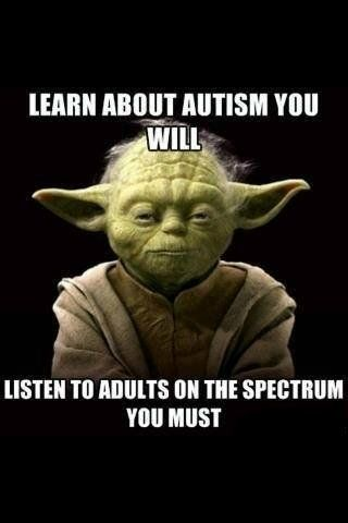 autism is not just for kids.