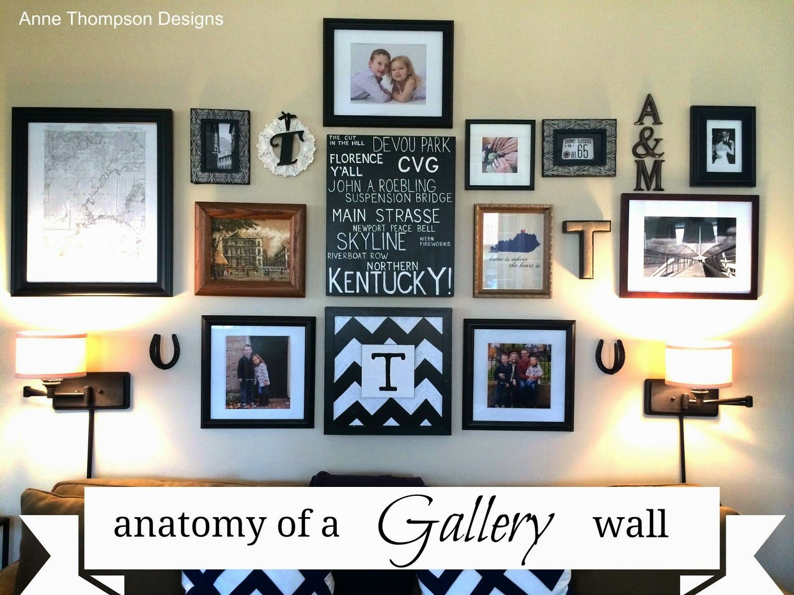 Because home should be great anatomy of a diy gallery wall home