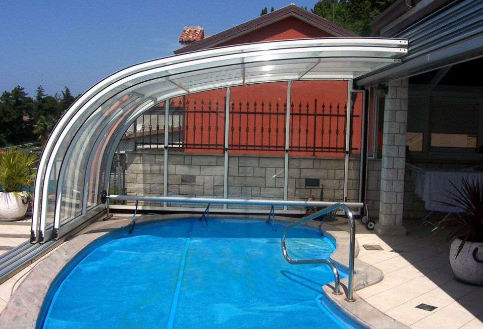 Pool Ideas Indoor Outdoor Retractable Pool Enclosure Sun Room Swimming Pool Enclosures Pool Porch Patio Enclosures
