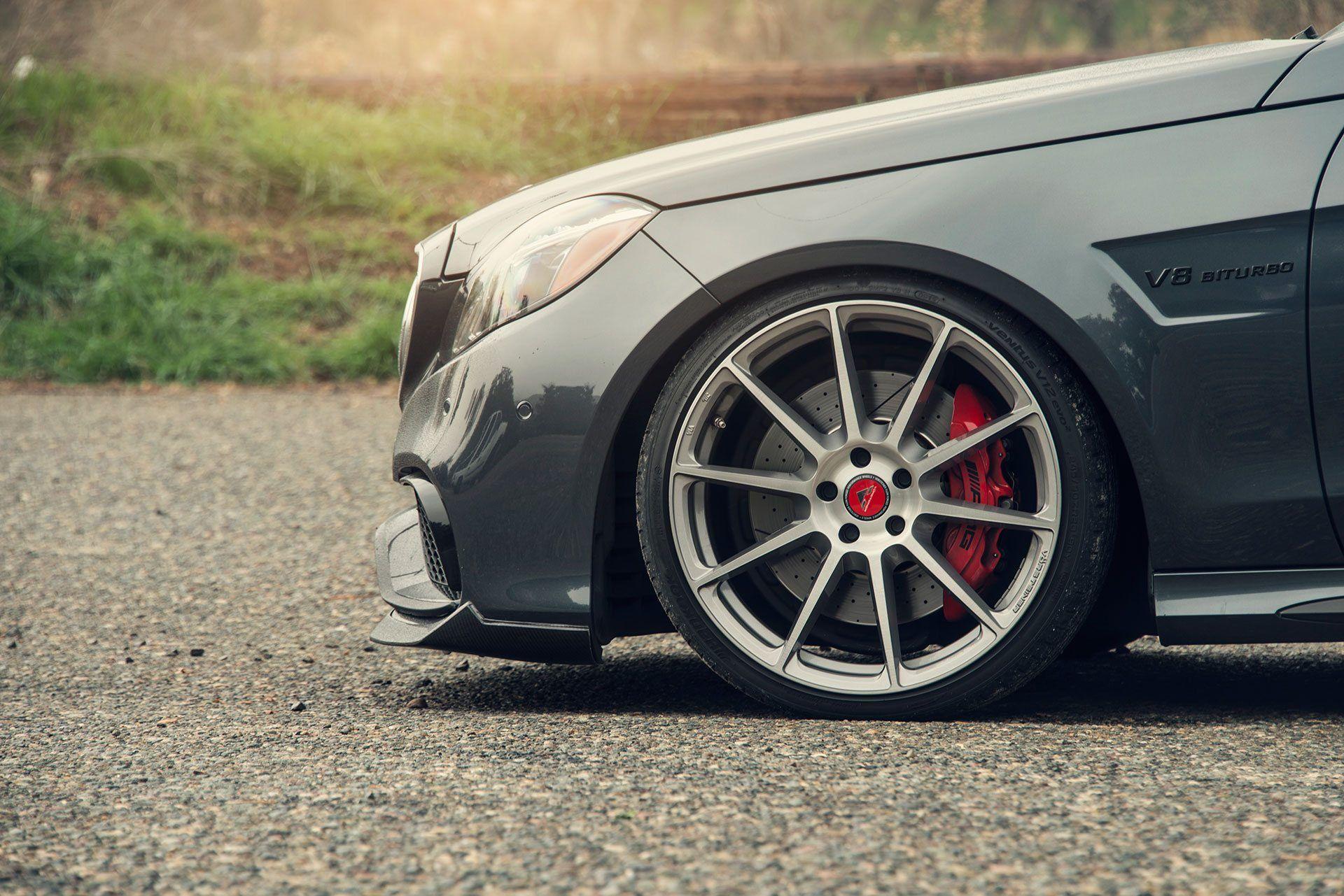 Mercedes-Benz E63 AMG W212 Facelift VBR Aero Front Spoiler - Vorsteiner