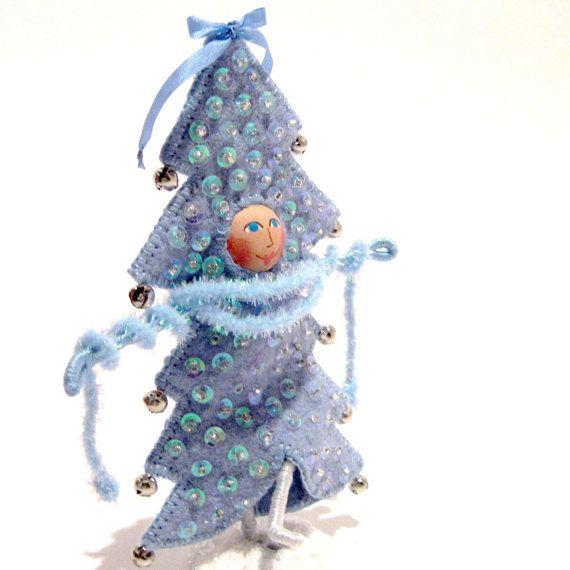 Blue Spruce Art Doll Blue Christmas Pinterest Blue spruce