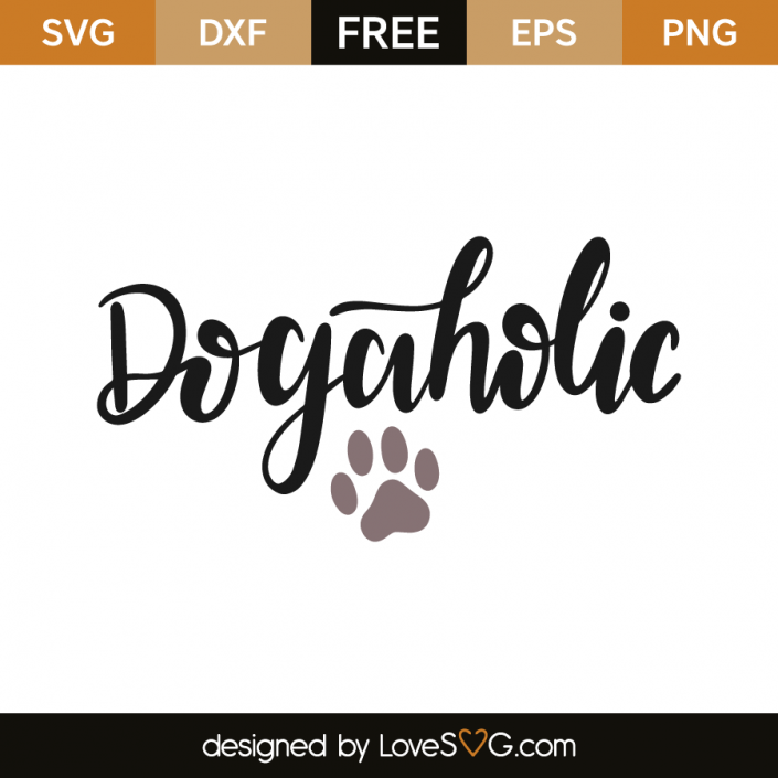 Dogaholic Cricut, Free svg cut files, Cricut creations