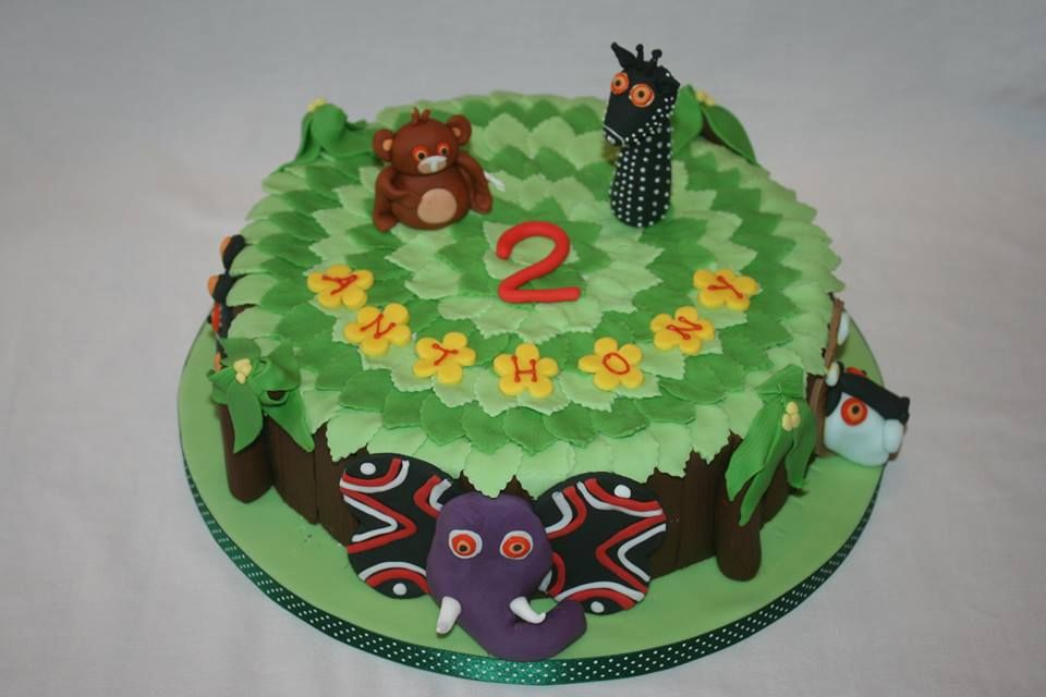Cbeebies tinga tinga tales birthday cake cake novelty