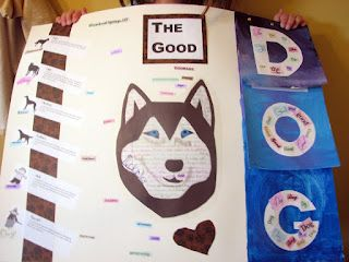 """Dog poster project. """"The Good Dog"""""""
