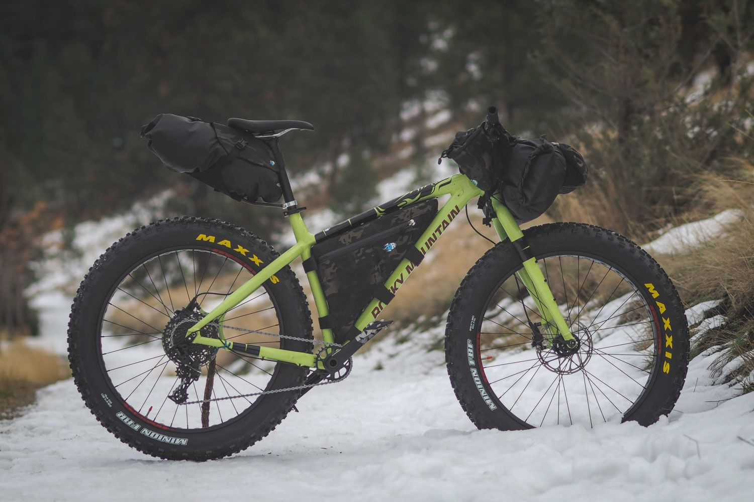 Rocky Mountain Blizzard 30 Review Bikepacking Rocky Mountains