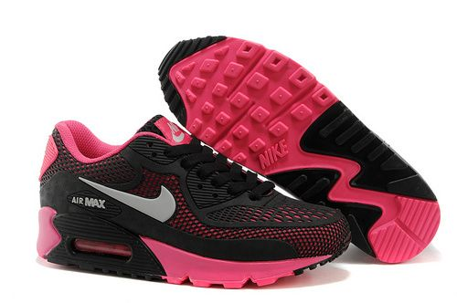 Womens Nike Air Max 90 A Plastic Shoes Black Pinkonly Us