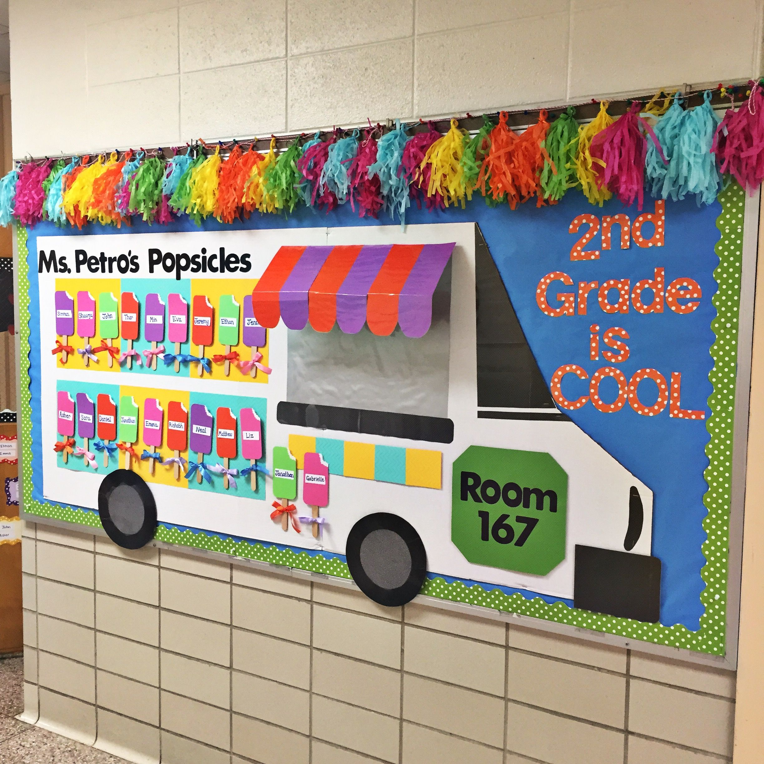 Welcome Back To School Bulletin Board With Images Teacher