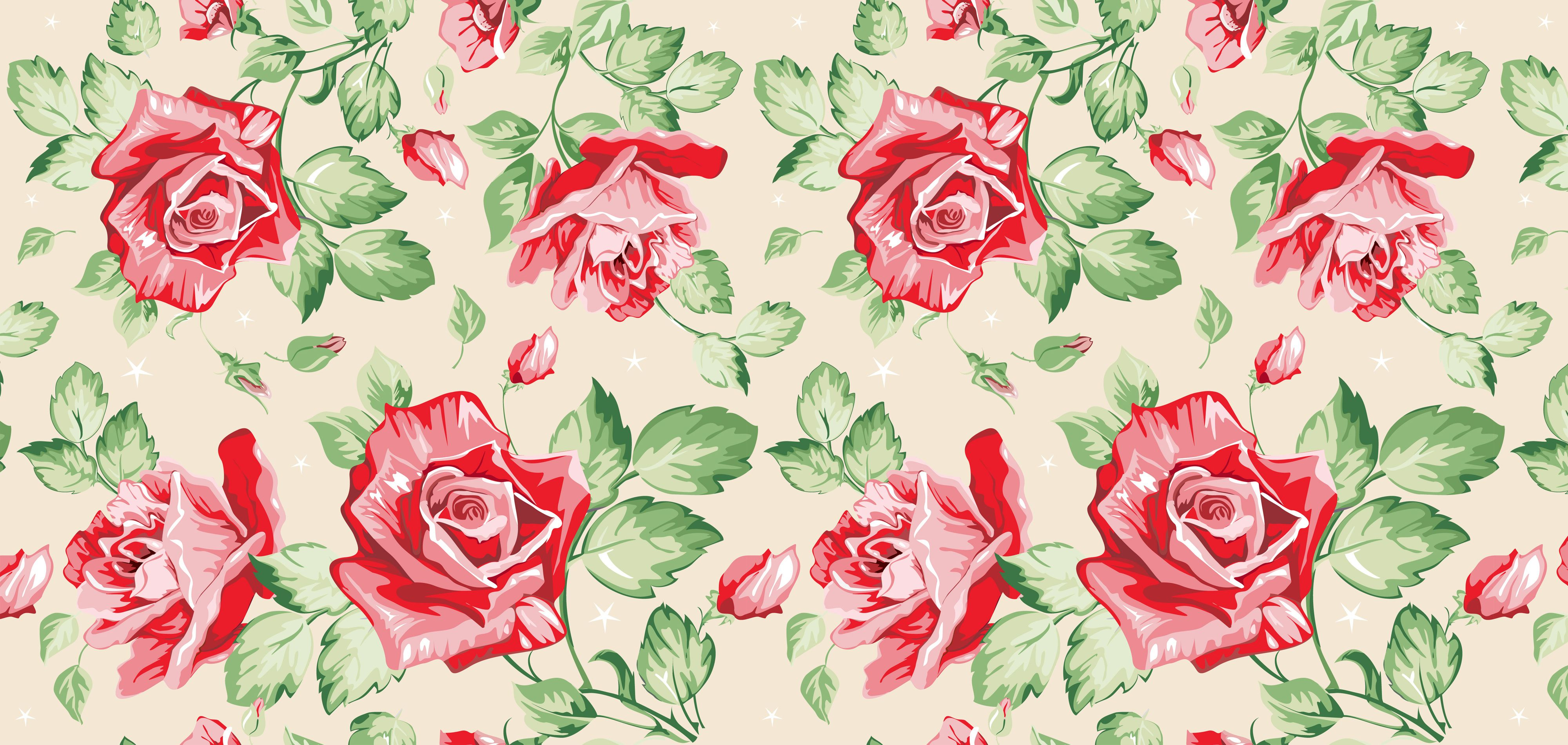 Vintage floral wallpaper cool floral pinterest for Wallpaper home vintage