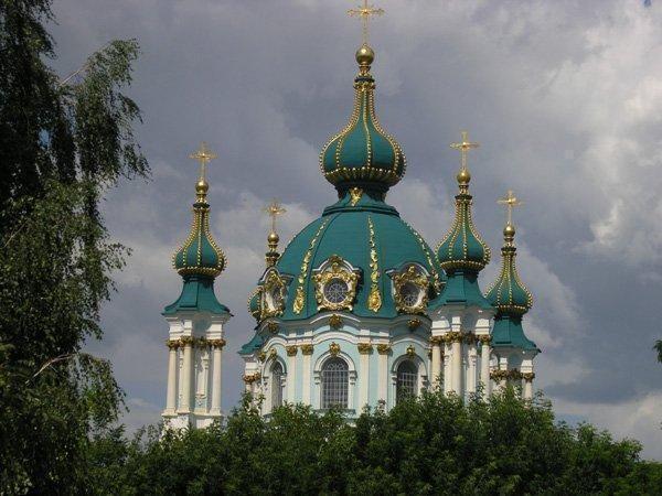 catedral de san andres de kiev,Ucrania.