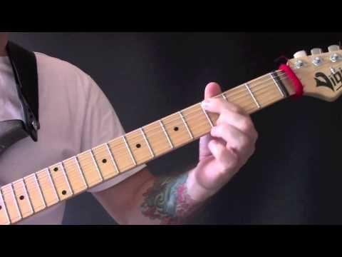 Crimson & Clover Guitar Tutorial by Tommy James & The Shondells ...