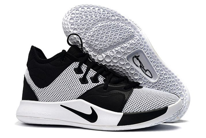8130df88cac Shop Men's Nike PG 3 White/Black Shoes 2019 in 2019 | Nike PG 3 ...