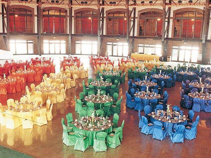 Wedding Rainbow Tablecloths Banquet Banquet Chair Cover