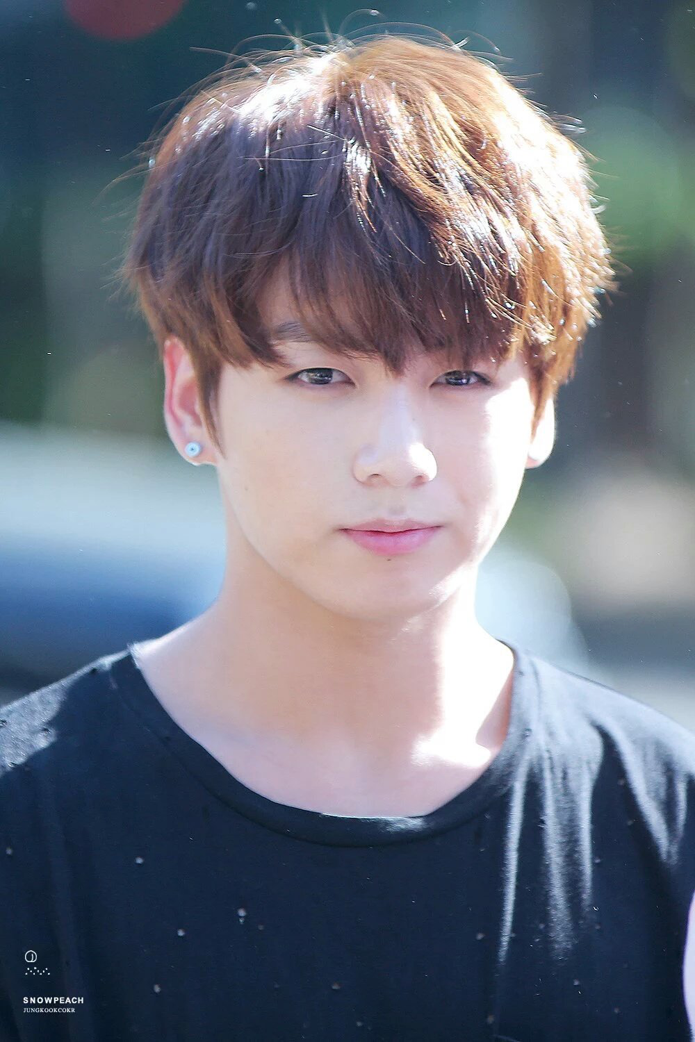 160513 BTS Jungkook At KBS Music Bank C Snow Peach Do Not Edit Crop Or Remove The Watermark