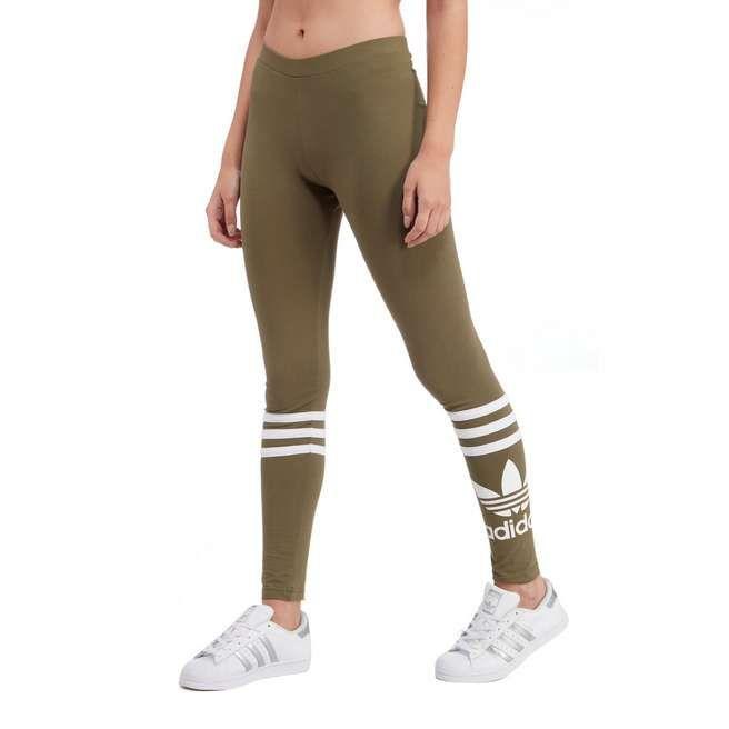 adidas Originals 3 Stripe Trefoil Leggings | JD Sports