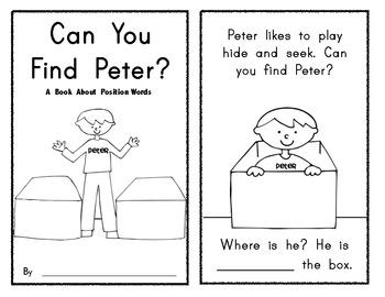 Free Positional Words Worksheets: kindergarten positional words worksheets   Brandonbrice us,