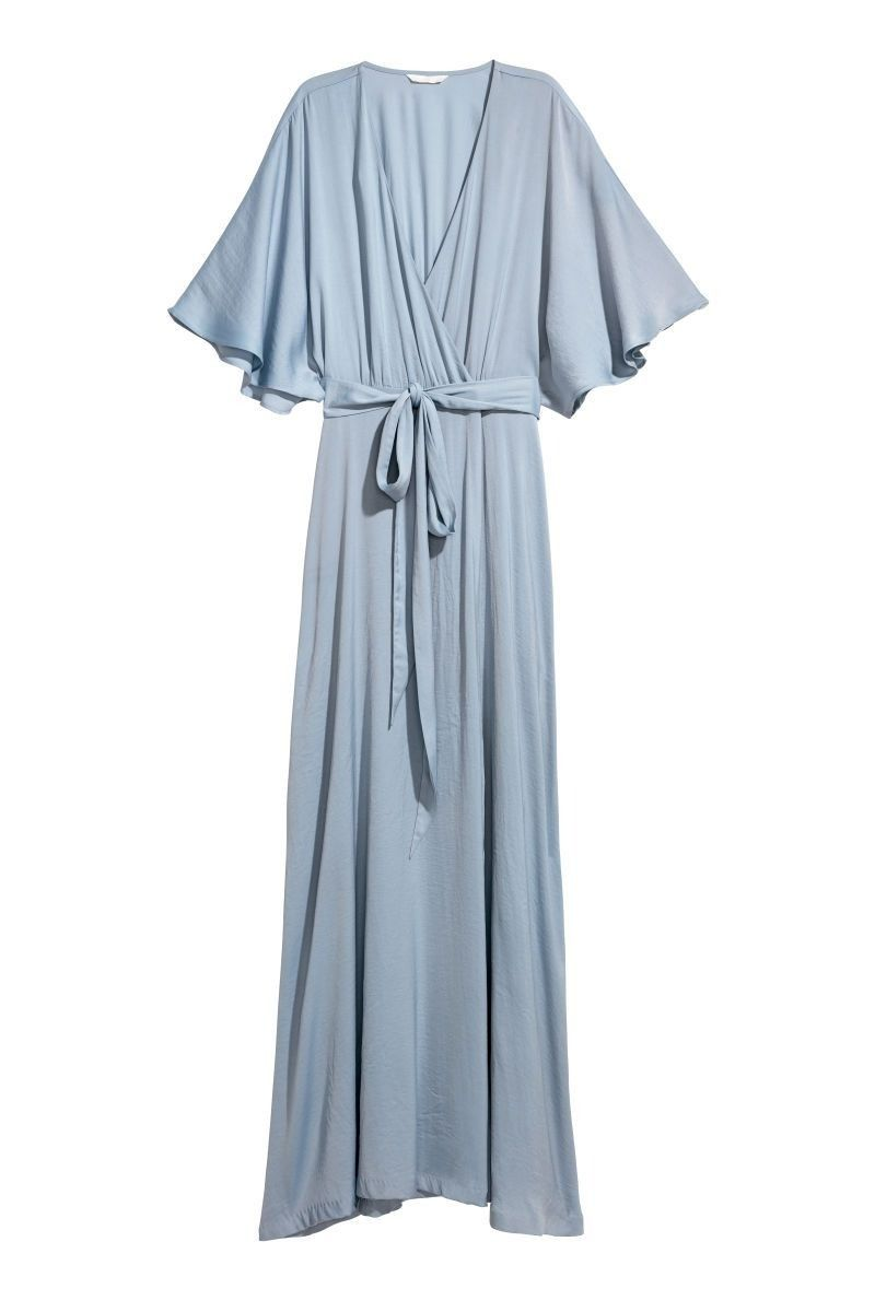 top langes kleid hellblau für 2019 | lange kleider, lange