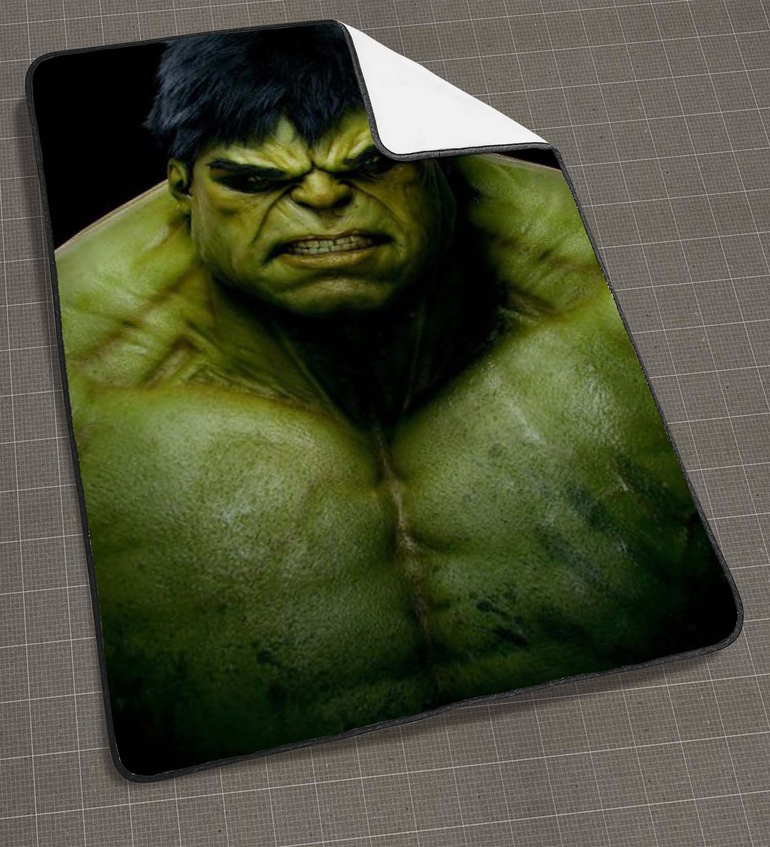 Incredible Hulk blanket, funny blanket, cute and awesome blanket ...