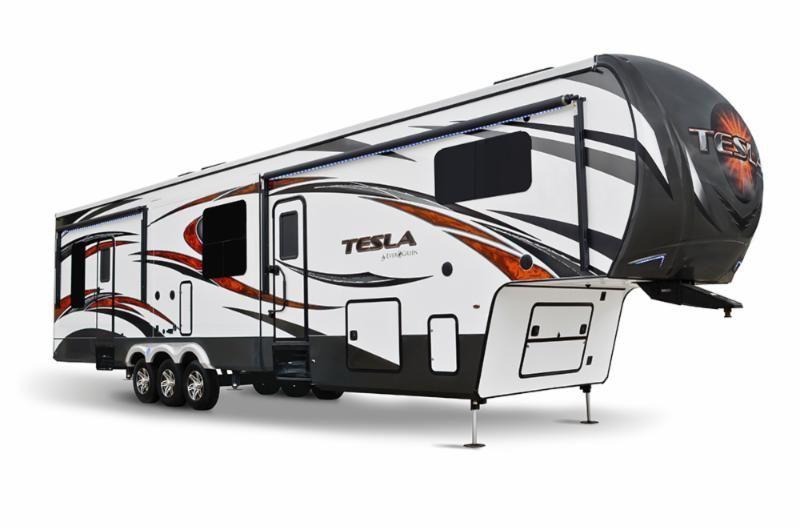 Tesla Toy Hauler >> Evergreen S New Tesla 3970 Toy Hauler Hits The Market Rv