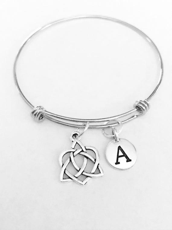 Photo of Keltischer Knoten Armreif, keltischer Schmuck, erste Armreif, keltische irische Loyalität Freundschaft Geschenk Armreif Bettelarmband