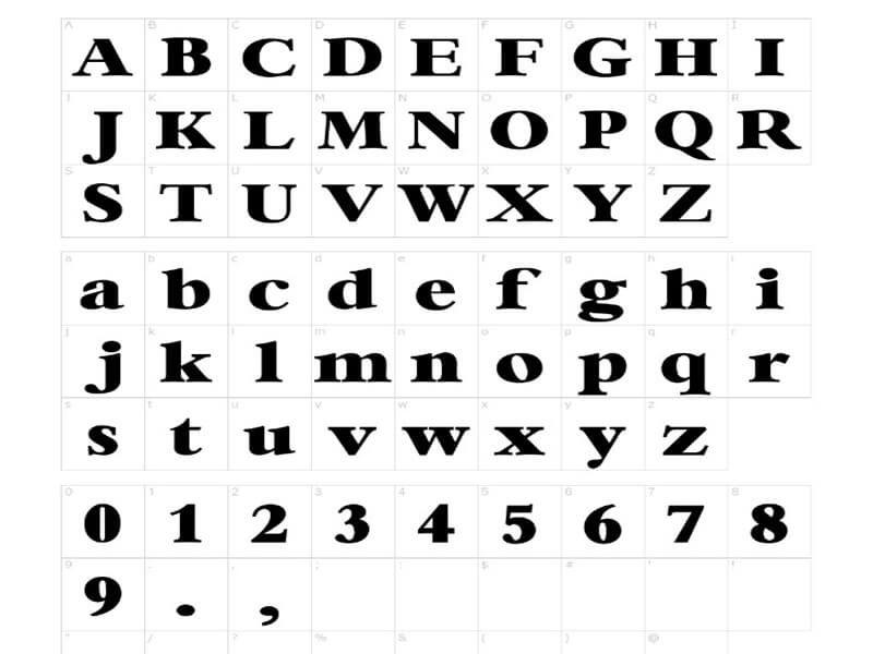 Rose Glen North Dakota ⁓ Try These Double Outline Font Dafont