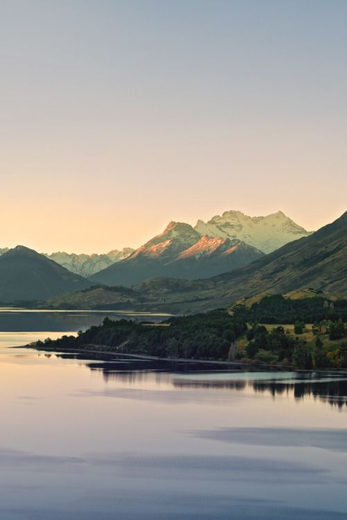 lake wakatipu, new zealand.