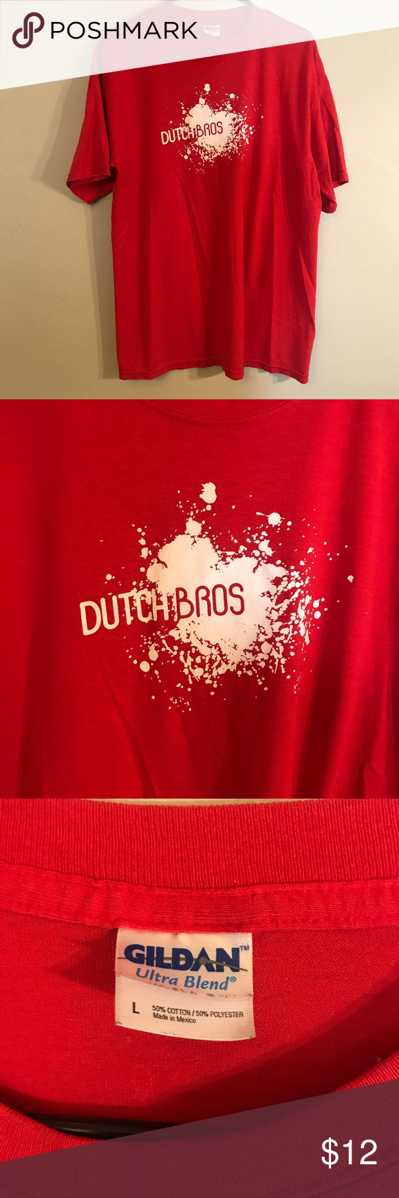Red Dutch Bros Tee Old school Dutch Bros shirt, great condition. Dutch Bros Tops Tees - Short Sleeve #dutchbros Red Dutch Bros Tee Old school Dutch Bros shirt, great condition. Dutch Bros Tops Tees - Short Sleeve #dutchbros