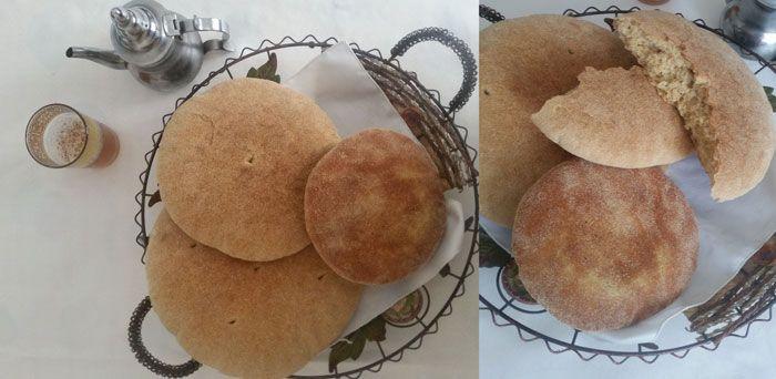 Pain marocain avec Thermomix, une recette de pain au four ou Khobz, extra moelleux, inratable et facile à réaliser avec votre Thermomix.