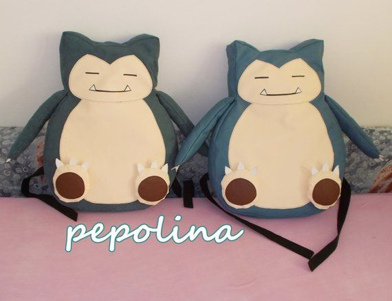 ff0fcce7 Snorlax Pokemon Backpack | Products | Pokemon backpack, Backpacks ...