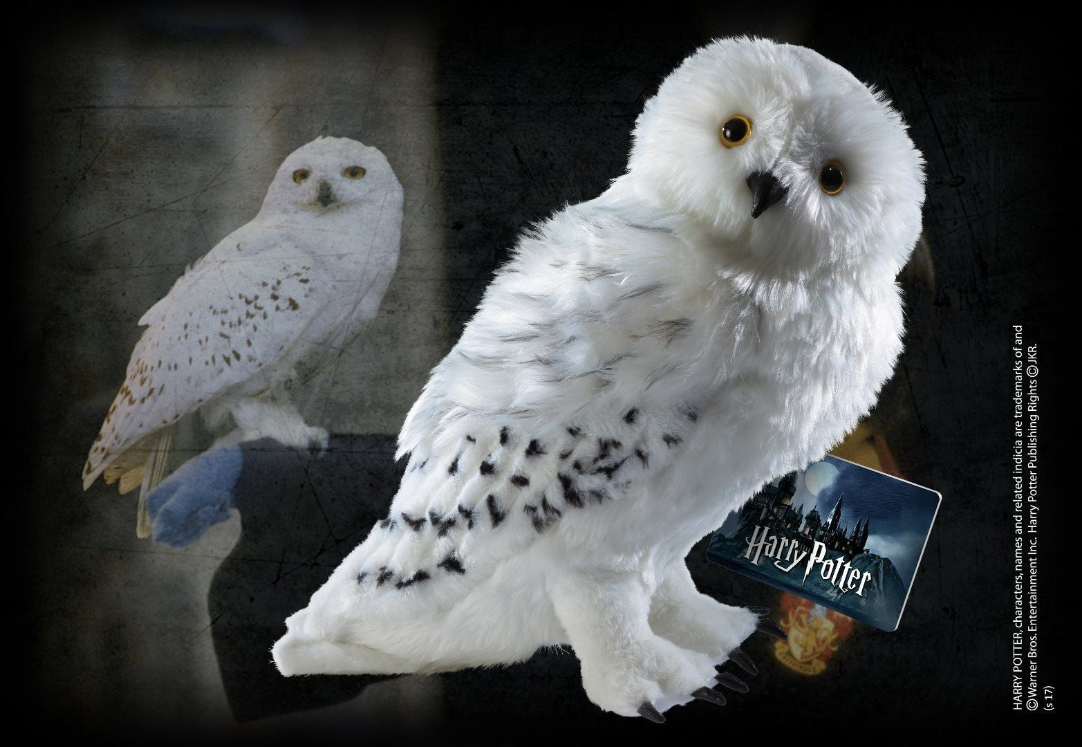Free Shipping Harry Potter Hedwig Plush 30cm Figure From The Noble Collection Nn8871 Harry Potter Hedwig Harry Potter Plush Hedwig Owl
