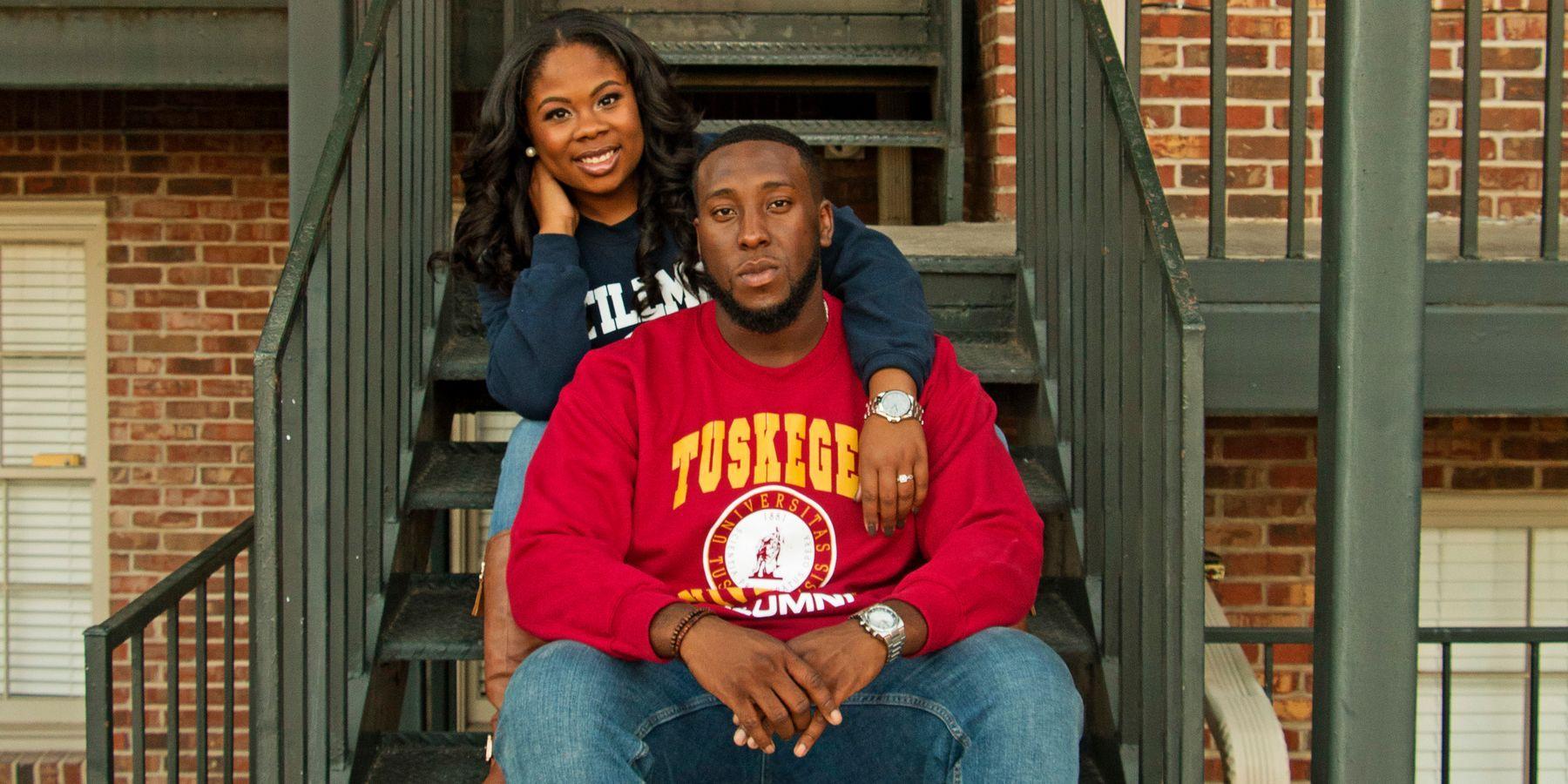 Corwin Jones And Clarissa Benson Alum Of Stillman And Tuskegee Fell In Love While Working At Kia Jones Wedding Website Tuskegee