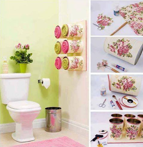 ideas para decorar interiores con latas recicladas by