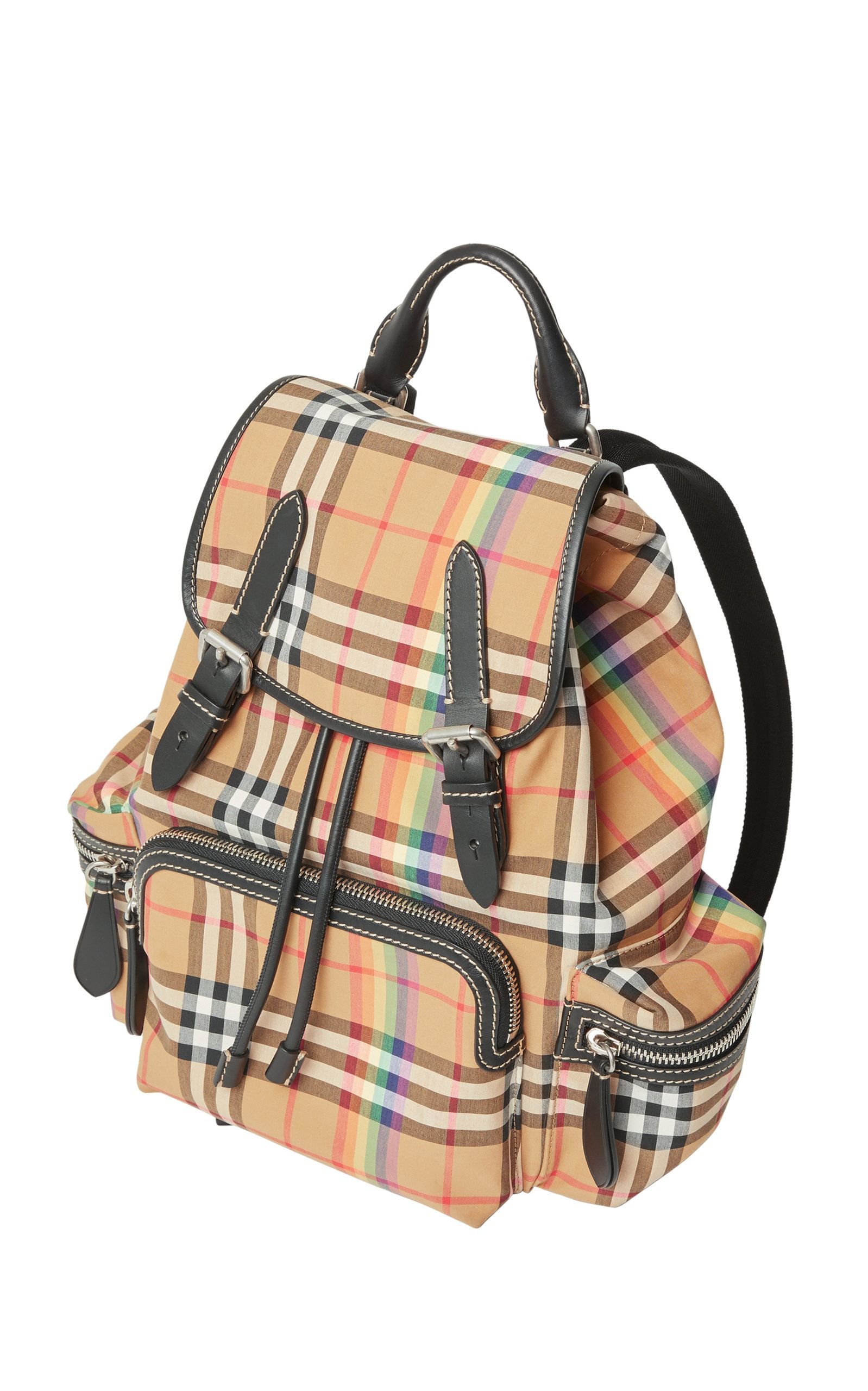 a5770fcd2 Burberry Medium Rucksack Vintage Check Cotton Backpack - Beige In Neutrals