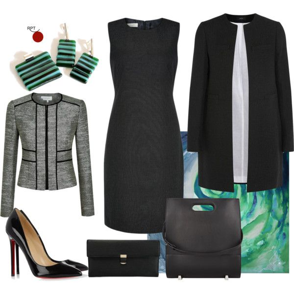 Thursday Office Meeting business attire business travel outfit casual chic office attire ...