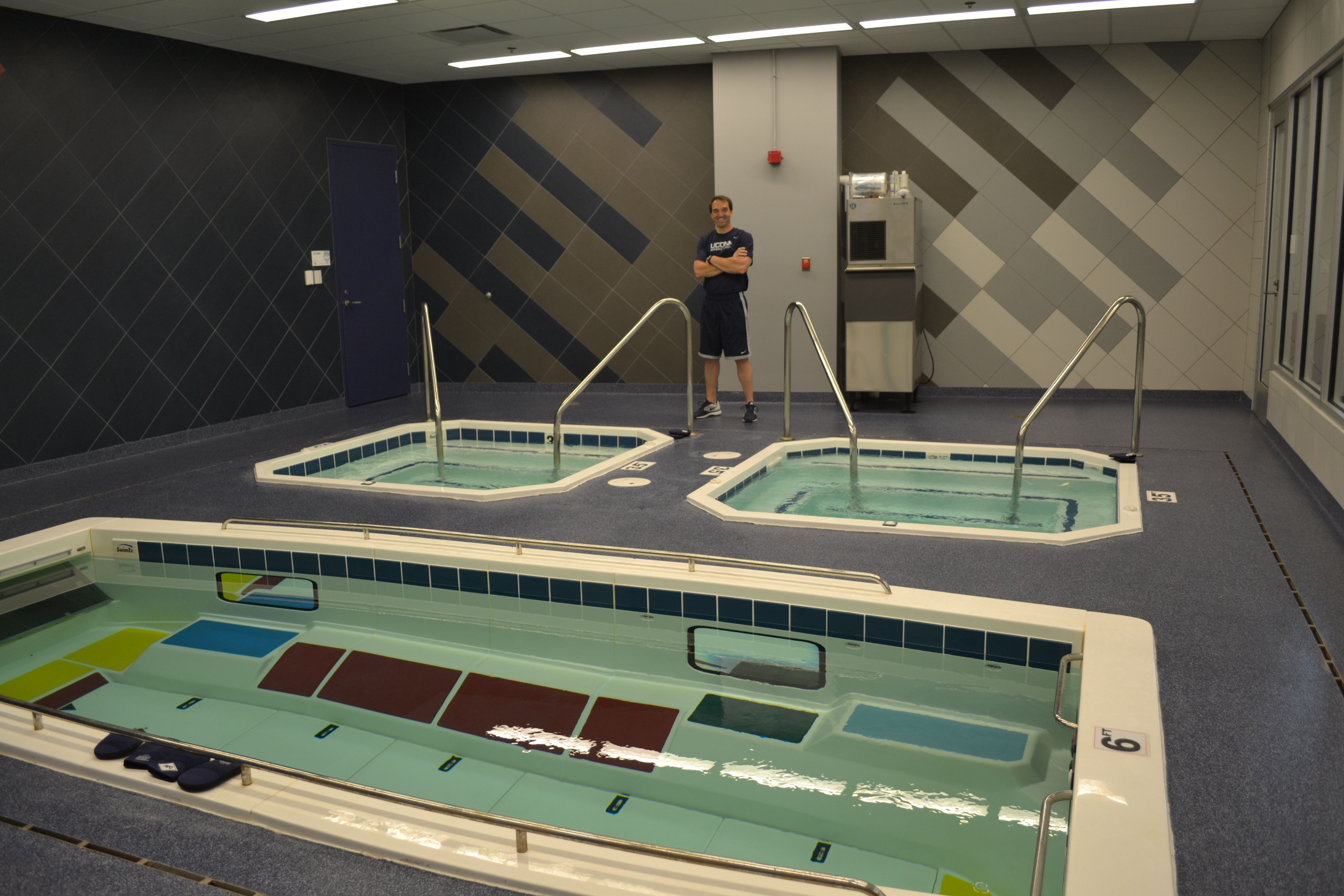 Hu huskies athletics - Uconn S World Class Facility For World Class Athletes These Swimex Pools And Plunge Tanks Are