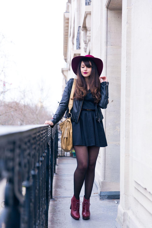 blog mode paris look automne printemps 2016 chapeau. Black Bedroom Furniture Sets. Home Design Ideas